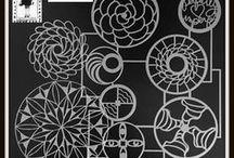 My Stencil Designs for StencilGirl / Stencils I have designed for StencilGirl Products.