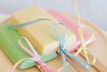 Trends: Pastels / colors colours pastel palette mint pink yellow orange / by Jen Leheny / Red Instead