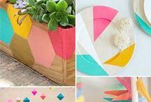 Trends: Geometrics / geometric patterns repeats gems  / by Jen Leheny / Red Instead