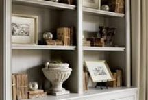 Decorating a Bookcase