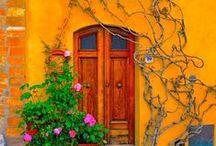 Enchanting Entryways / Beautiful doorways across the globe!   www.cihdesign.com ~ www.facebook.com/cihdesign