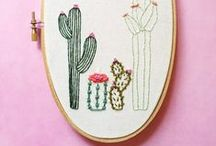 Hand Embroidery Art / A collection of beautiful and intricate hand embroidery that I admire from other artists.