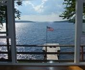 Lakefront Maine Cabin Rental / Lakefront cabin rental in Maine. The Best place to stay in Maine. Moosehead Lake Cabin for rent in Greenville in a nature setting.