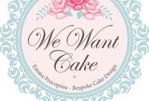 Emma procopiou bespoke cakes / My cakes by emma procopiou www.wewantcake.co.uk