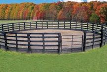 Fences, Barns, & Round Pens / by Kristy Nunley