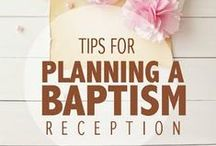 Baptism / dream board for Little One's Baptism celebration.