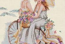 Handmade / Etamin, cross stitch, knitting, crochet, and other handmade things
