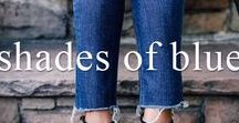 Shades of Blue / Become inspired by Shades of Indigo, Navy , Cobalt and Azure
