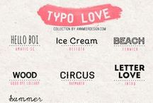 Fonts / by Kristy Nunley