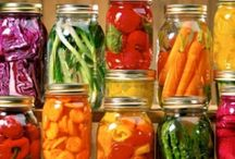 Ways to preserve food. / by Candace Bradley