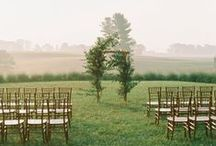 Wedding Venue Inspiration / Wedding ceremony, reception, and venue inspiration for brides of Allison Mannella Photography