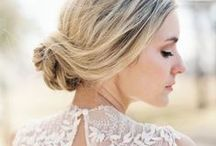 Wedding Beauty Inspiration / Hair and make-up inspiration for brides of Allison Mannella Photography