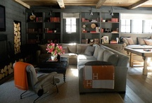 Media Rooms / Basements / by Heather