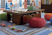 Playrooms / by Heather