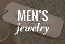 Men's Jewelry & Accessories Board / Whether it's Father's Day, a Birthday, a Wedding Day, or any day, showcasing one-of-a-kind, handmade men's jewelry. For your inspiration. For his wardrobe. / by Rio Grande Jewelry Supplies