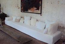 sofas / My style relaxed linen sofas timeless sofa design. European velvet sofas.