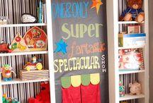 playroom ideas  / by Melinda Bowles
