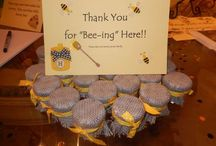 Gender Reveal Party / What Will it Bee? Gender Reveal Party using gray and yellow bumblebee theme.  / by Joanna Blackstone