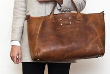 Bags / Bags and especially leather bags. Men and women fashion.