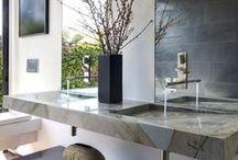 bathroom / Bathroom design ideas #InteriorDesign #ModernBathroom #interiors #bathroom #remodel #minimal