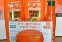 Spring Refresh with Garnier Damage Eraser / #Damageraser #fructis  The #MysteryBrand from L'Oreal has been revealed! It is Garnier Fructis's Damage Eraser line!