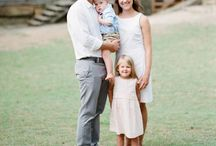 Family Outfit Inspiration / Beautiful outfit inspiration for your upcoming family photo session.