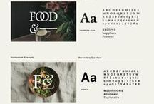 Inspiration: Branding / Logo and visual brand identity inspiration for branding, graphic design, designers, bloggers, creative entrepreneurs, freelancers, small business owners
