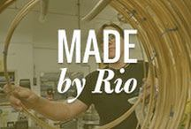 "Made By Rio / Made with love in Albuquerque, New Mexico, USA 9,262: The number of findings, tools and pieces of equipment Rio makes at our solar-powered facility right here in our hometown of Albuquerque, New Mexico—it's nearly a quarter of everything we sell.  From jewelry-making staples like sterling silver jump rings to intricate charms to robust Neutec casting machines, our collection of ""Made by Rio"" products is brought to life by a team of more than 50 skilled craftspeople and engineers."