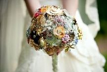 (WEDDING) Bouquet Ideas / These are alternative ideas for Bouquets - not classic fresh flowers
