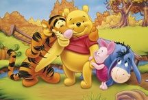 100 ACRE WOOD FRIENDS / MY LOVE POOOOOOOOOOOOOOH AND PIGLEEEEEEEEEEEET FOREVER / by Elizabeth Rojas
