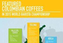 Colombian Coffee Infographics