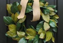 Wreaths / by Patti Cheshire, {AvantiCheshire.blogspot.com}