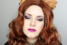 Halloween / Makeup, Nail Polish, Hair and Costumes for Halloween. Most of the makeup tutorials can be done last minute if you don't have a costume otherwise.