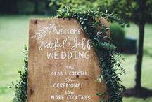 Wedding Details / Its the little details that count. Signage, decor, and other small ideas.