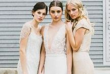 Wedding Dresses / Elegant, chic, boho, classic and beautiful. Should be simple right?