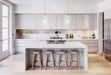Dream Kitchen / Well organised, stylish spaces perfect for creating tasty delights - my dream kitchen