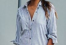 Sharp Shirts / Shirts add instant chic to any outfit, I love wearing them when I mean business!