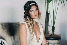 Bridal Looks / Accessories, hairstyles, manicures, shoes, and anything else you can think of.