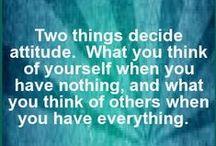 Words of Wisdom / Savy Sayings to Strengthen Self