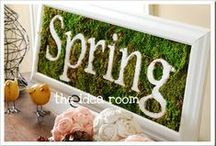 """Spring Has Sprung / The """"GreenIng"""" Season: Spring Colors, Delicate Buds, and shades of Green"""