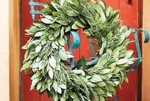 Wreaths for All Reasons / Door Decor - Inside and Outside
