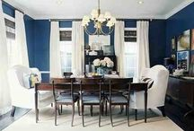 For the Home - Formal Dining Room / This board contains ideas for my new Formal Dining Room.  I anticipate this room having lots of antiques.  It will be home to my Austrian buffet and old frame picutres.  I want a round table (LARGE 60-80 inches in diam) in here.   / by Marcia Thompson
