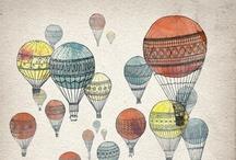 Up, Up, and Away / Hot Air Balloons