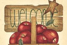 A is for APPLE / by Judy Morris