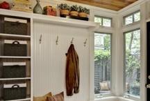 home: closet re-do / by Kim Larson