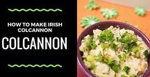 St. Patrick's Day / Both traditional Irish recipes and recipes that are colored green for St. Patricks day #recipes #holidayfood #holidays #irishfood #irishrecipes