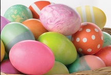 Easter / Easter ideas, egg decorating and colorful crafts.