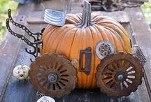 Fall Harvest, Halloween, Christmas / holiday fun activities, recipes, decorating etc / by Christine Gallagher