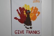 Thanksgiving Handprint Turkeys / The traditional Handprint Turkey craft goes back ages and ages. I'm convinced Pilgrim children made handprint turkeys at the first Thanksgiving! Here's a few variations on a favorite craft. / by stlMotherhood