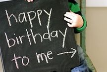 Birthdaze / Birthday parties and ideas